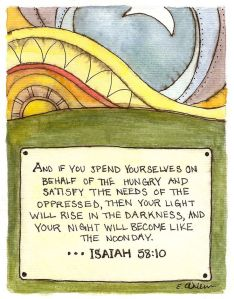 Isaiah 58-10